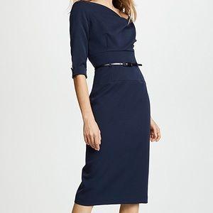 Black Halo Jackie O 3/4 sleeve dress